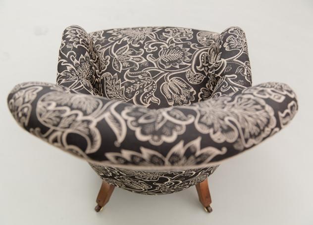 Hannah Stanton Iron Back Victorian Chair Celia Birtwell