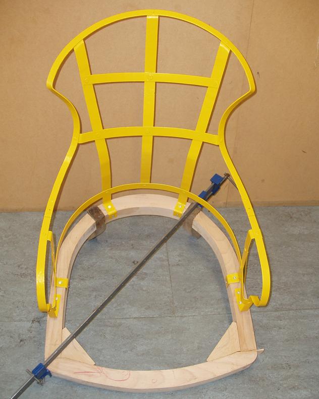 Iron Back Hannah Stanton Victorian chair