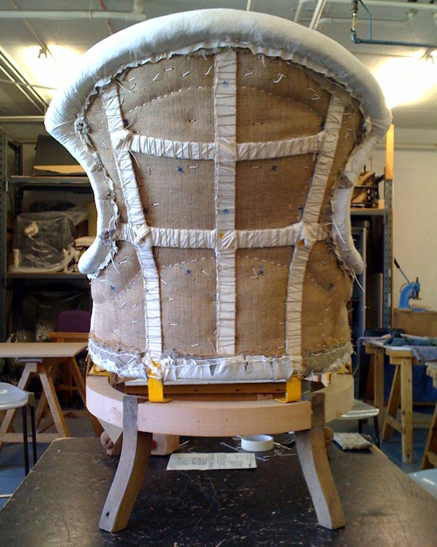 Hannah Stanton Iron Back Victorian chair