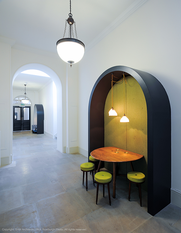 Hannah Stanton, Hailo, Somerset House, SAM Architects, Upholstery, Furniture Design, Furniture sourcing
