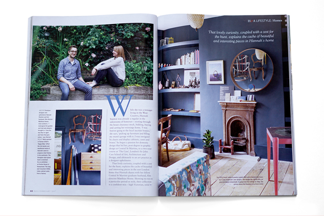 Hannah Stanton, Interior, Furniture, Homes & Antiques, Magazine, Design