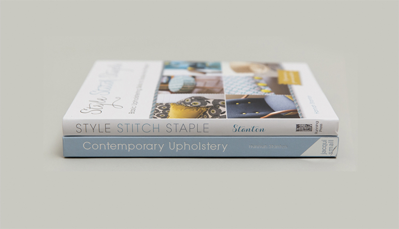 Hannah Stanton, Contemporary Upholstery, Book, Style, Stitch, Staple Jacqui Small Publishing, Running Press