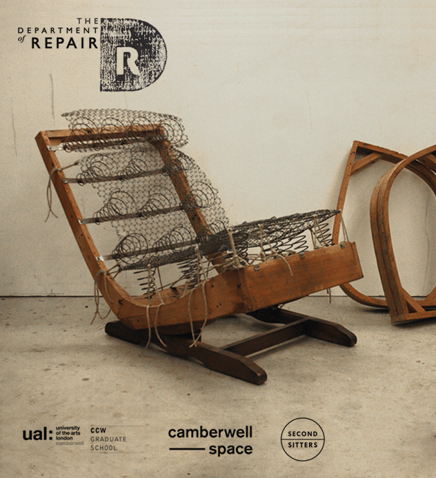 Hannah Stanton, Second Sitters, Department of Repair, Camberwell college of Arts, upholstery