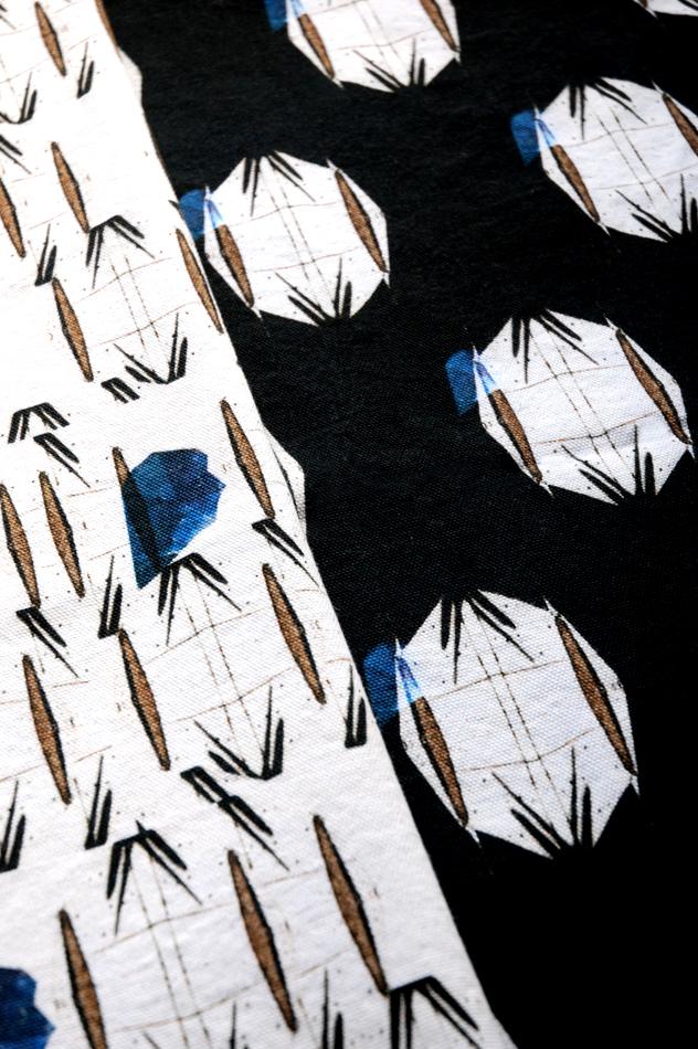 Hannah Stanton, Fabric design, May Design Series, LA Drought