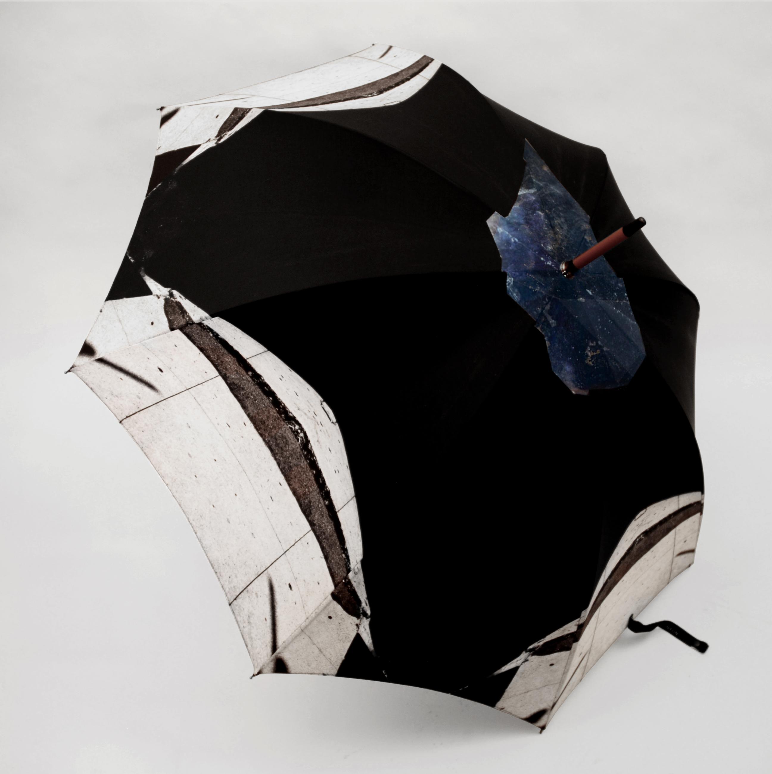 hannah stanton, drought fabric, fabric design, umbrella