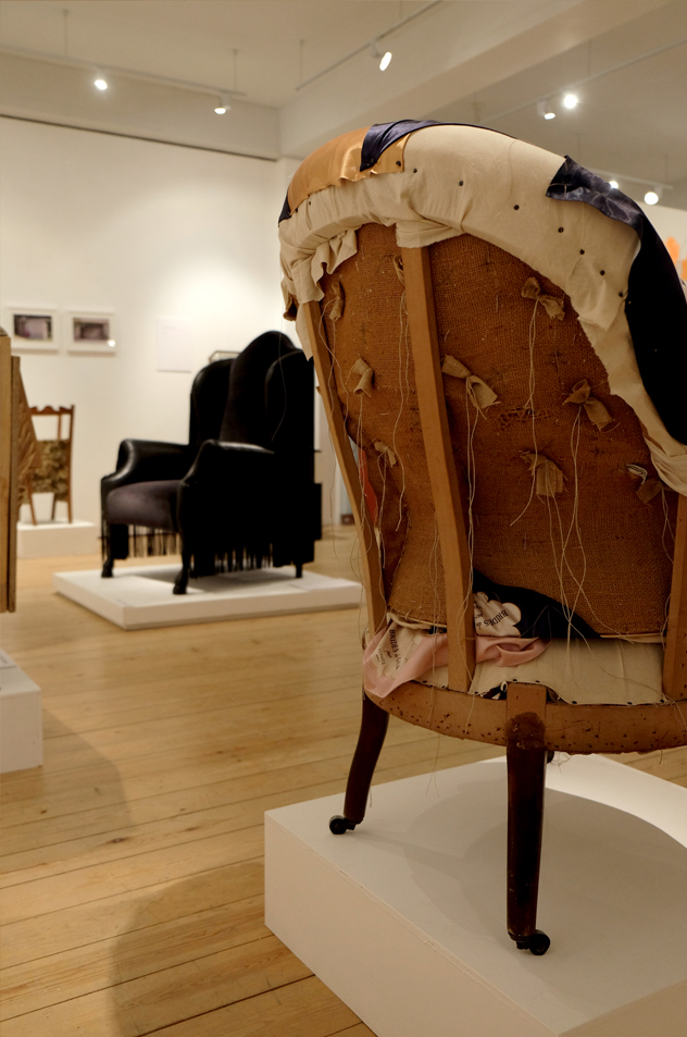 hannah Stanton, The Geffrye Museum, Second Sitters, upholstery: evolution to revolution,