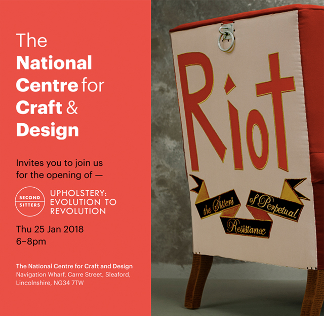 Hannah Stanton, National Centre for Craft & Design, Second Sitters, Arts Council